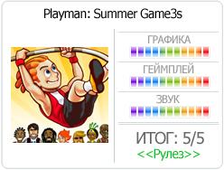Mr. Goodliving 'Playman: Summer Game3s' - И снова Плеймэн!