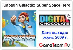 Digital Chocolate \'Captain Galactic: Super Space Hero\' - Спасаем галактику!