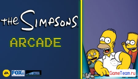 EA Mobile \'The Simpsons Arcade \' -Борьба за сладость!