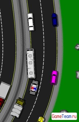 Cop Car: гонка в стиле ретро