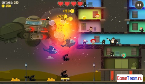 Aliens Drive Me Crazy - увлекательный шутер от Rebel Twins для Android и iOS