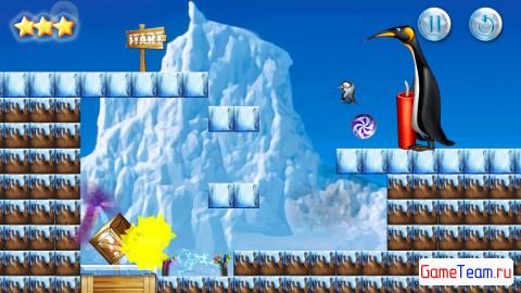 Touch The Bomb: взрывай пингвинов