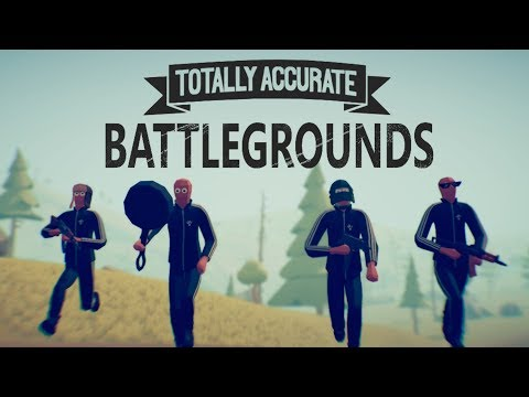 Totally Accurate Battlegrounds: Лучший клон PUBG