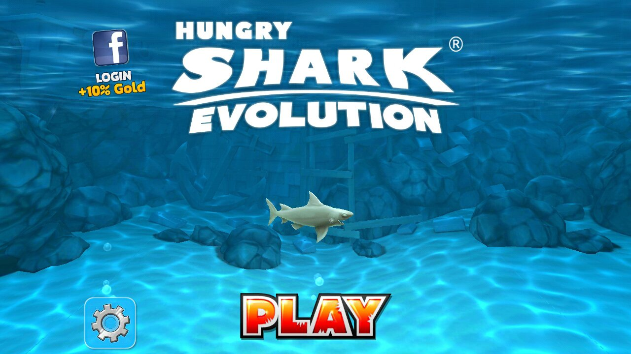 Hungry shark evolution на ваш Андроид